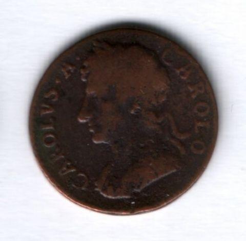 1 фартинг 1675 года Великобритания