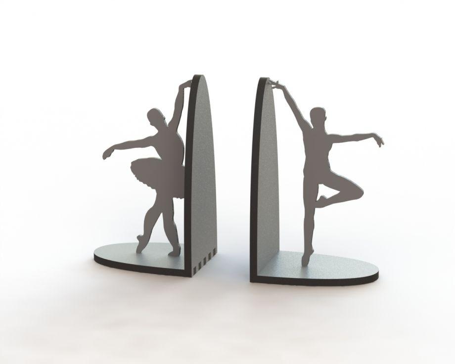 Держатель для книг балерина