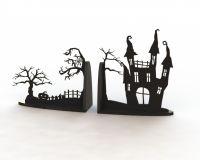 Держатель для книг Хеллоуин