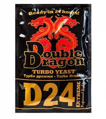 Дрожжи Double Dragon D24 Turbo, 178 гр