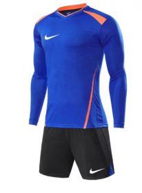 Форма футбольная длинный рукав Nike Dry Tiempo Синяя