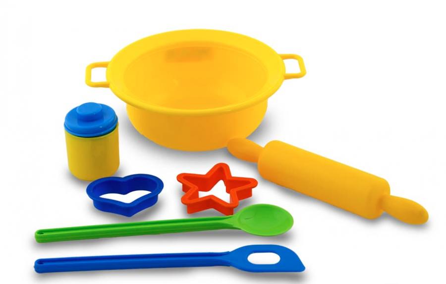Набор детской посуды для выпечки N1