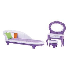Будуар Конфетти, мебель для кукол Огонёк