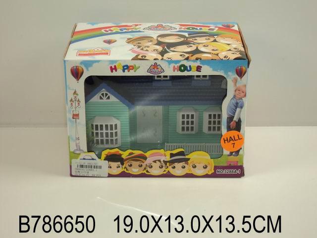 Кукольный домик  в/к 19*13*13,5 см