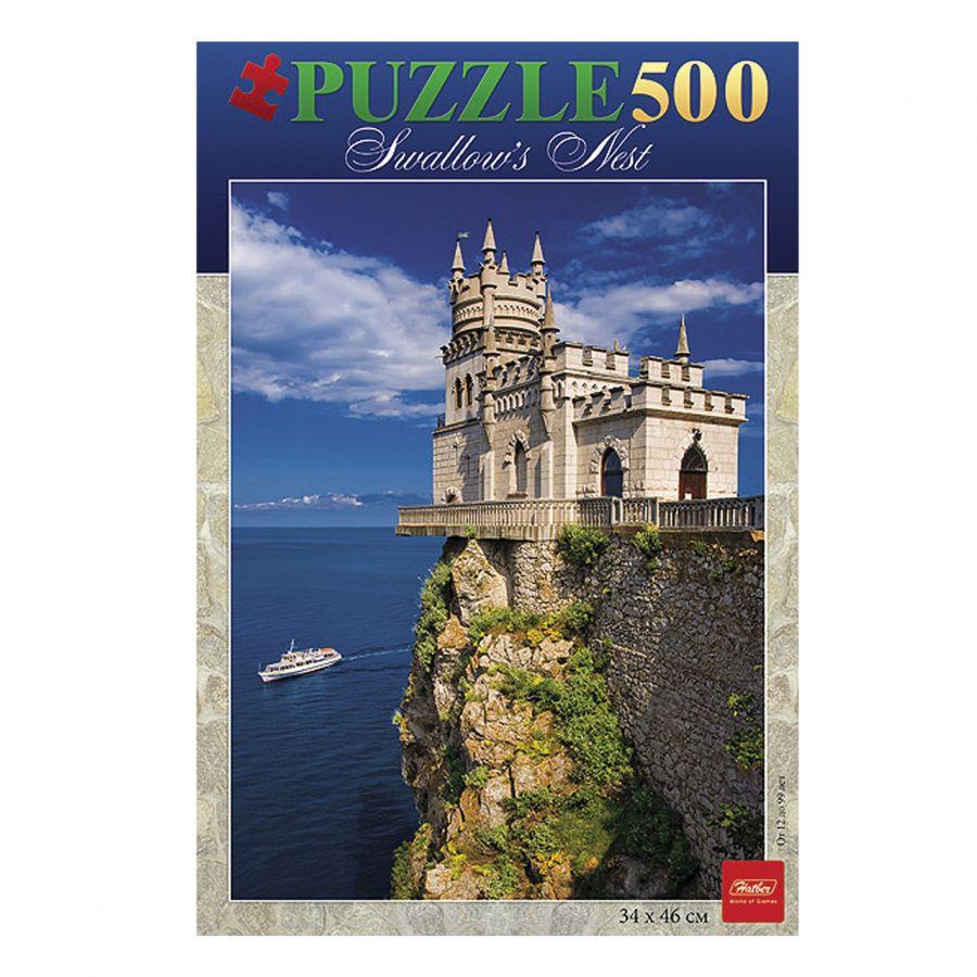 Пазлы 500 Замок