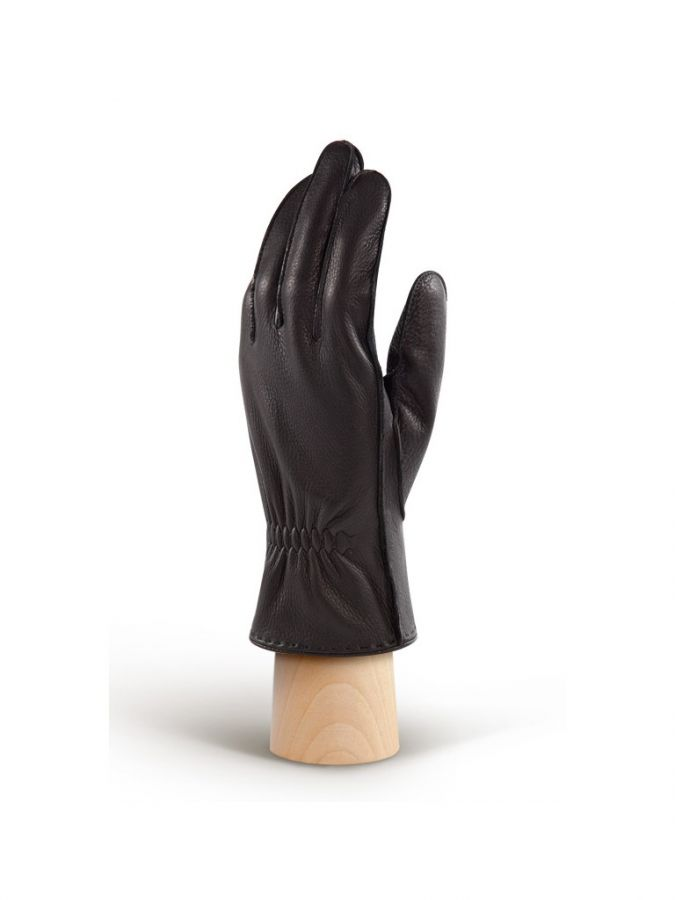 Теплые мужские перчатки ELEGANZZA