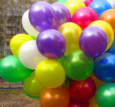 Перламутровые шары 100 штук