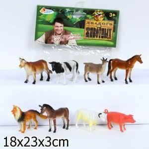 Набор из 8-и домашних животных Играем вместе 8 см 139355