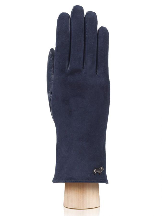 Велюровые женские перчатки LABBRA