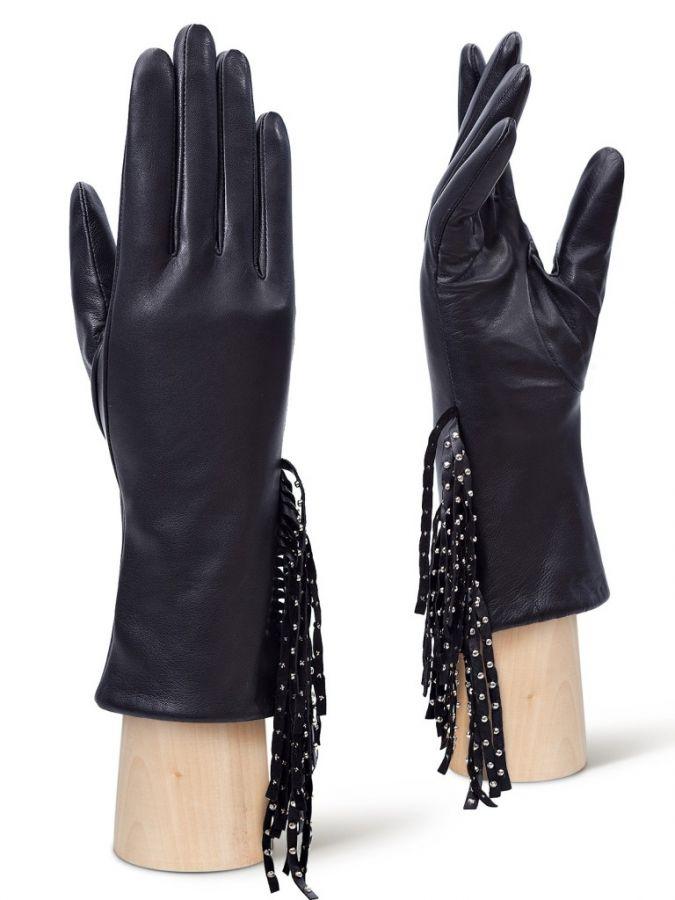 Кожаные перчатки ELEGANZZA