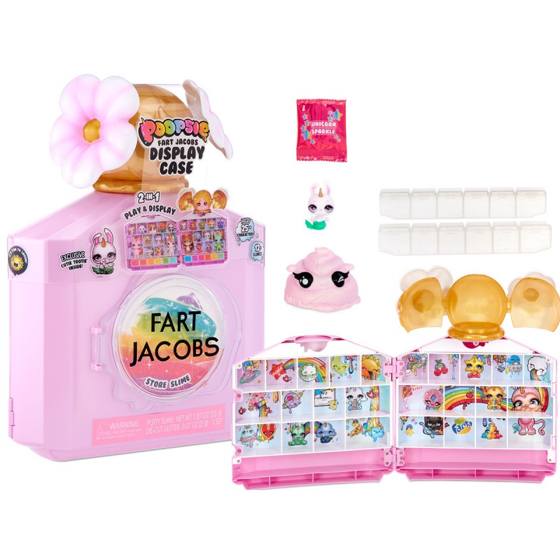 Кейс-витрина Poopsie Fart Jacobs 2 в 1
