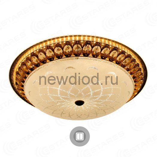 Управляемый светодиодный светильник on/off MAROCCO GOLD 72W R-510-WHITE-220-IP20 Maysun