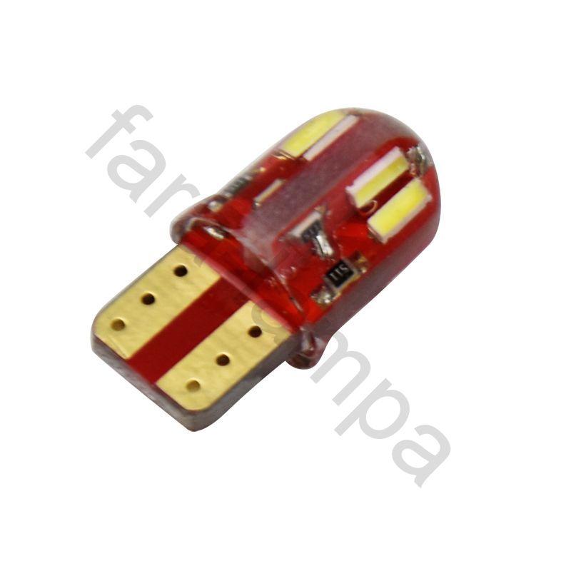 Автомобильные светодиодные лампы T10B-8-100