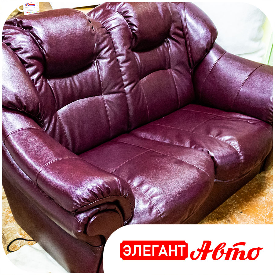 Полная перетяжка дивана