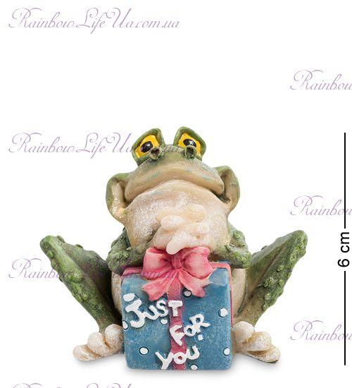 "Фигурка лягушка с подарком Just for you ""Sealmark"""
