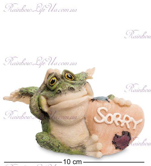 """Фигурка лягушка с сердцем Sorry """"Sealmark"""""""