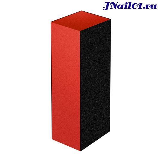 Шлифовщик для искусственных ногтей черно-оранжевый (150/180/180)