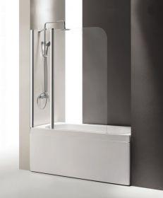 Шторка на ванну Cezares ECO-O-V-11-120/140-P-Cr