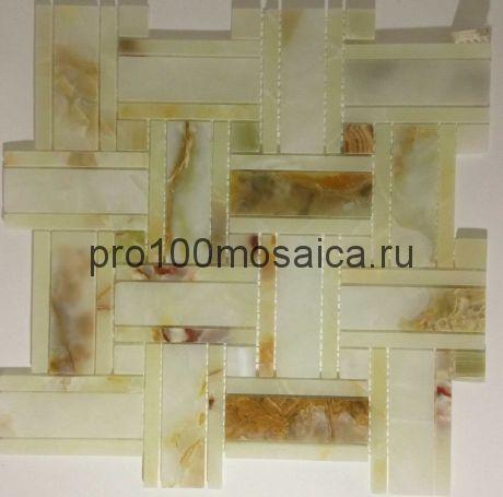 KA34 Мозаика серия Джейд, размер чипа 100*30, мм: 315*315*8 (Happy Mosaic)