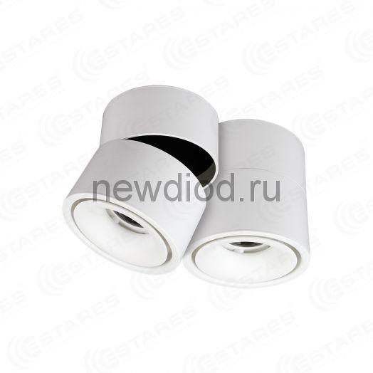 Светодиодный поворотный светильник DRUM 12W R-100 WW WHITE 220 IP44 Maysun