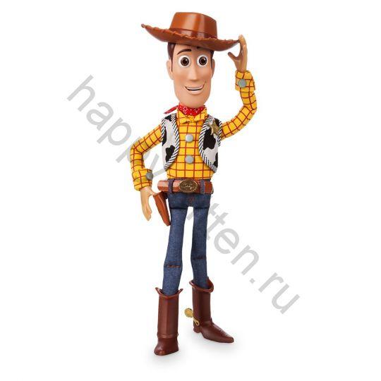 Интерактивная кукла шериф Вуди Дисней говорящий 19 г.