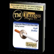Сигарета сквозь монету - Cigarette Through Half Dollar by Tango