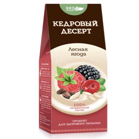 """Кедровый десерт """"Лесная ягода"""""""