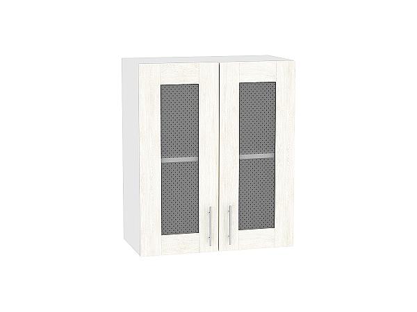 Шкаф верхний Лофт В609 со стеклом (nordic oak)