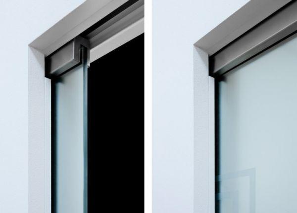 Комплект Eclisse Vitro Syntesis для стеклянной двери (без зажимов)