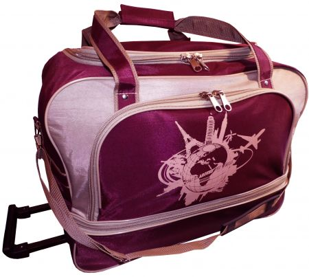 24-769-20 сумка дорожная на колесах