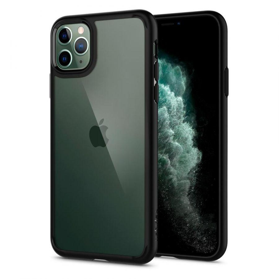 Чехол Spigen Ultra Hybrid для iPhone 11 Pro черный