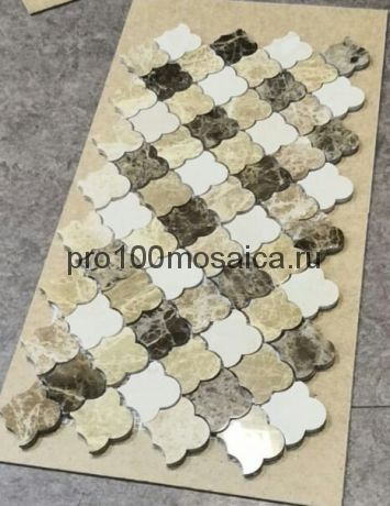 KA119 Мозаика серия Камень размер чипа 65*60, мм: 270*270*7 (Happy Mosaic)