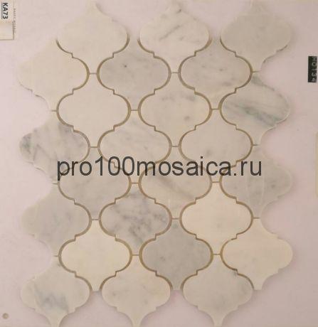 KA73. Мозаика серия Камень чип 78*75, размер, мм: 315*265*6 (Happy Mosaic)