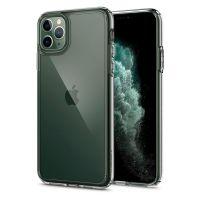 Купить чехол Spigen Ultra Hybrid для iPhone 11 Pro прозрачный чехол для Айфон 11 Pro в Москве в интернет магазине аксессуаров для смартфонов elite-case.ru