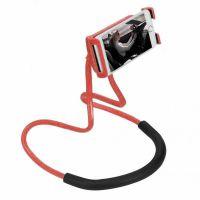 Универсальный держатель для смартфона на шею, цвет красный