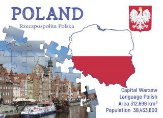 Почтовая открытка Step to Poland