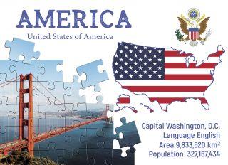 Почтовая открытка Step to America
