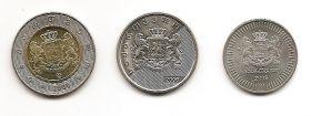 Набор монет Грузия 2006 (3 монеты)