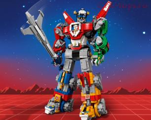 Конструктор BELA Ideas Вольтрон 11011 (Аналог LEGO Ideas 21311) 2321 дет