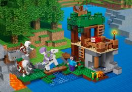 Конструктор LEPIN Minecraft Нападение армии скелетов 18041 (Аналог LEGO Minecraft 21146) 512 дет