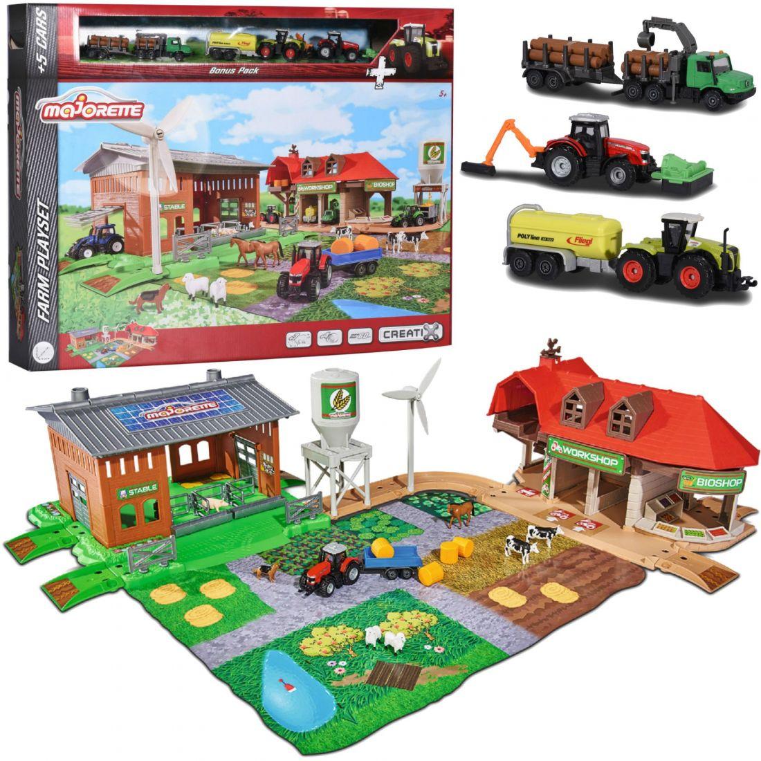 Игровой набор Majorette Большая ферма + трактор 2050009