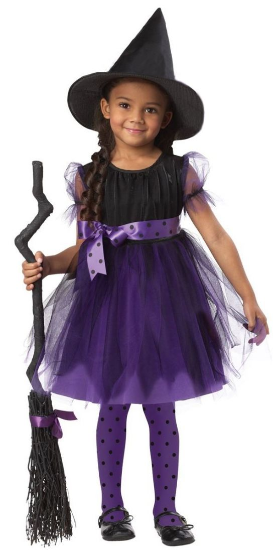 Детский костюм Фиолетовой ведьмы