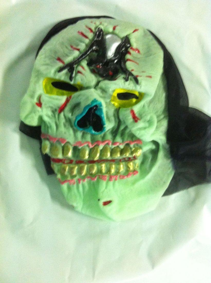 Латексная маска пирата с мышью