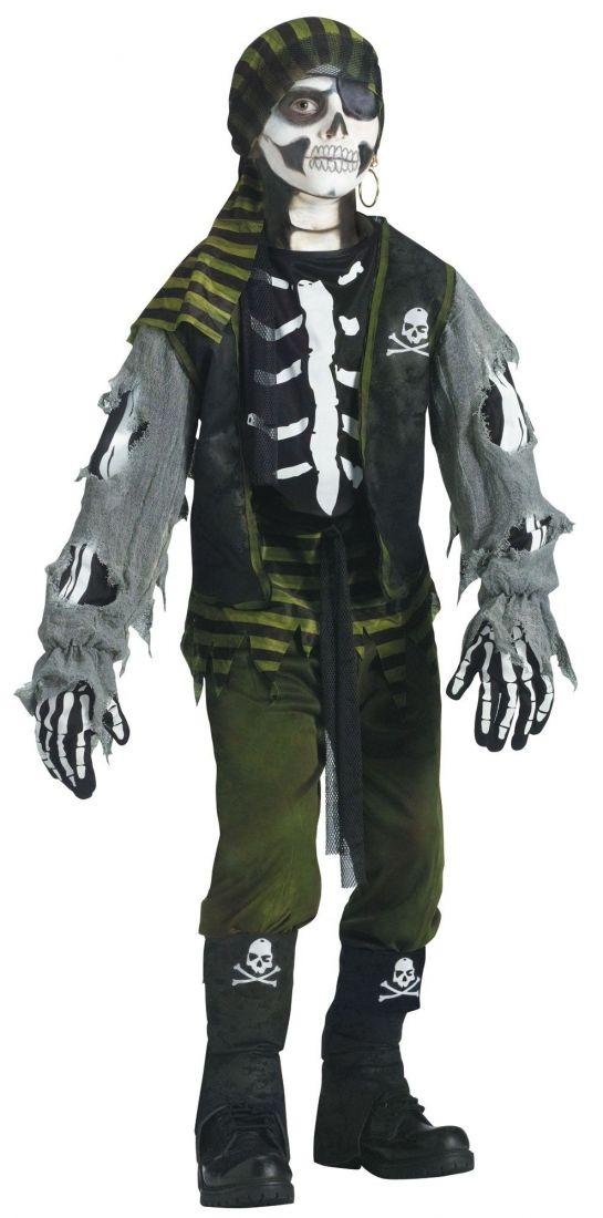 Детский костюм Скелетон Пират