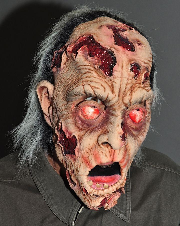 Маска раненого зомби