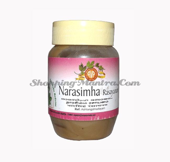 Нарасимха Расаяна укрепляющий тоник AVP (Arya Vaidya Pharmacy) Narasimha Rasayanam