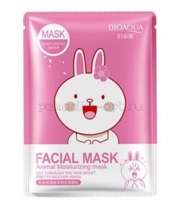 Тканевая маска Bioaqua Facial Mask Animal заяц ОРИГИНАЛ