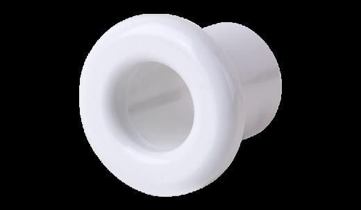 Втулка для вывода кабеля из стены 2 шт. WL18-18-01 белый