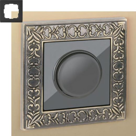 Рамка на 1 пост Werkel WL07-Frame-01 Бронза