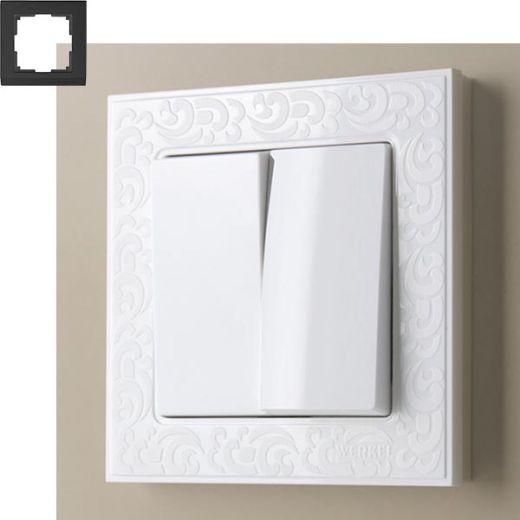 Рамка на 1 пост Werkel WL05-Frame-01 Белый